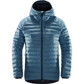 Haglöfs Essens Mimic Hood Jacket Damen silver blue/dense blue